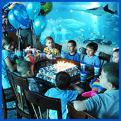 Downtown Aquarium Birthday
